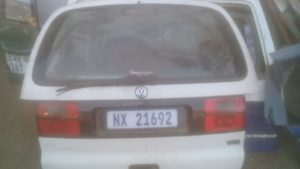 1999 VW SHARAN TAILGATE COMPLETE - USED(GPO)