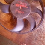 2013 ford figo radiator fan - USED(GPO)