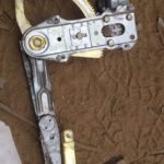 1989 Ford Sapphire Right Front Window Mechanism - Used