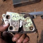 2006 tata indica left rear door lock - used