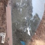 vw jetta 4 right front window - USED(GPO)