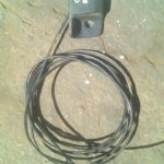 Chrysler neon bonnet cable - used