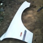 BMW e39 right fender - used