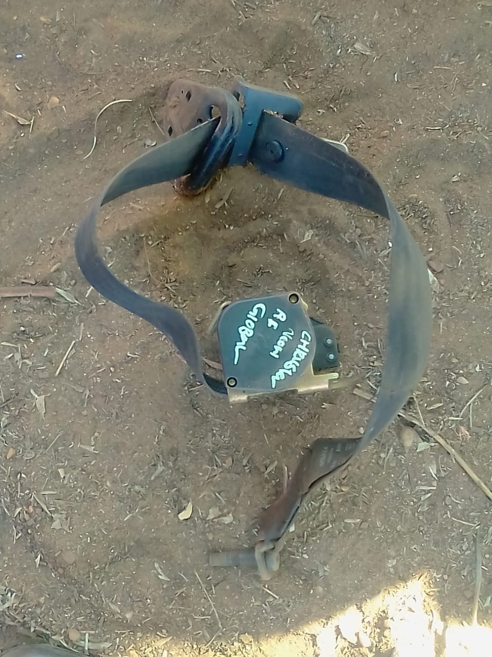 chrysler neon right front safety belt - USED(GPO)