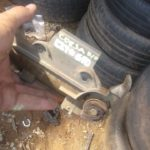 opel corsa lite right front door handle - USED(GPO)