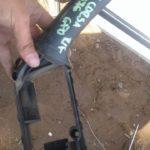 opel corsa lite right front inner door handle - USED(GPO)