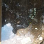 renault 5 right rear window - USED(GPO)