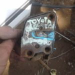 toyota Cressida left rear door lock - USED(GPO)