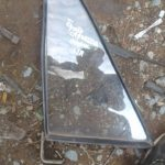 toyota Cressida left rear quarter glass - USED(GPO)