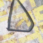 vw jetta 2 left rear quarter glass - USED(GPO)