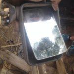 vw jetta 2 right mirror - USED(GPO)