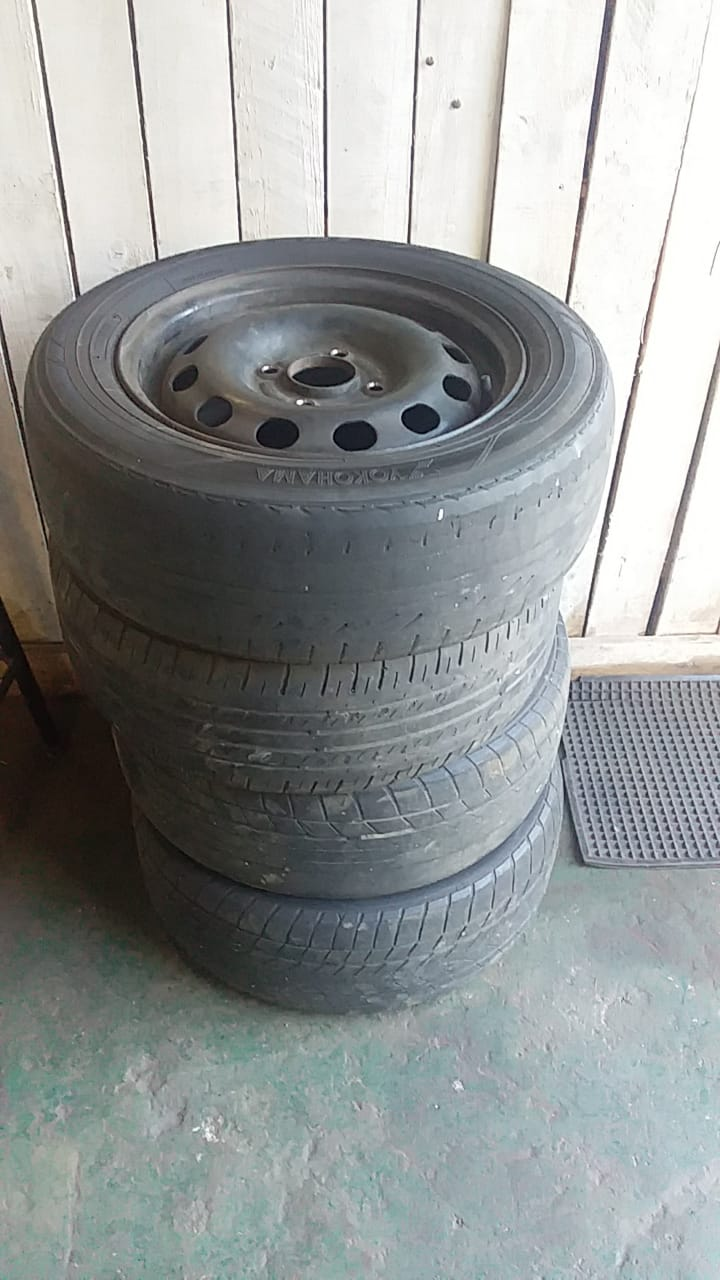 14' TYRE - USED(GPO)