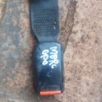 MERCEDES W123 SAFETY BELT STALK - USED(GPO)