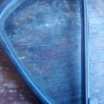 tata indica left rear quarter glass - USED(GPO)