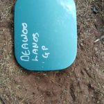 DAEWOO LANOS FUEL FLAP - USED(GPO)