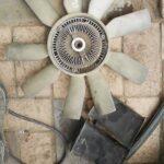 Mercedes Vito 115 radiator fan - USED(GPO)