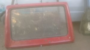 VW GOLF 1 COMPLETE TAILGATE - USED(GPO)