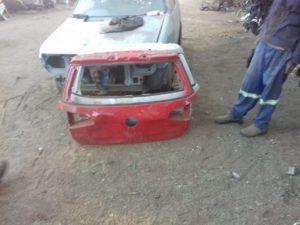 VW GOLF 7 TAILGATE SHELL - USED(GPO)