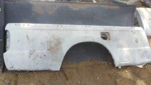 Ford Ranger Right Rear Load Bin Panel
